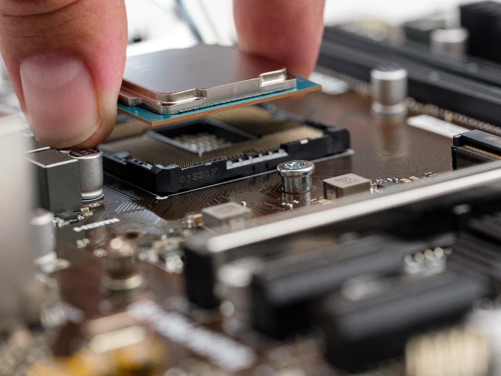 cómo montar procesador
